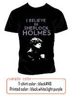 Футболка I believe in Sherlock Holmes, фото 1