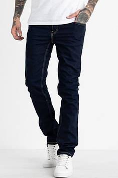 Джинсы мужские темно- синие Nescoly 133153T