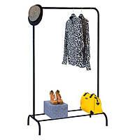 Стійка для одягу «Лофт 1Б» Чорний, фото 1