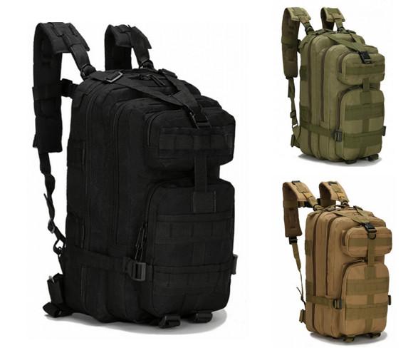 Тактический рюкзак на 25, 35, 45 литров, для охоты и рыбалки (4 цвета)