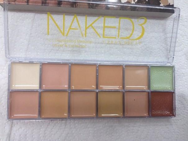 Палітра коректорів Naked 3 (12 кольорів)