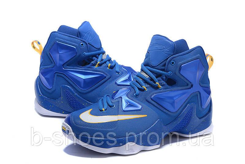 Мужские баскетбольные кроссовки Nike Lebron 13 (Blue)