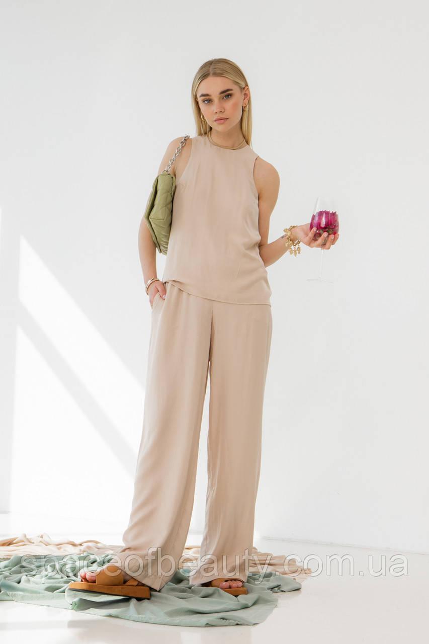 Женский костюм Stimma Альсобия 7601 L Бежевый