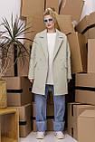 Женское пальто Stimma Анекс 8406 Xs Серо-Мятная Диагональ, фото 3