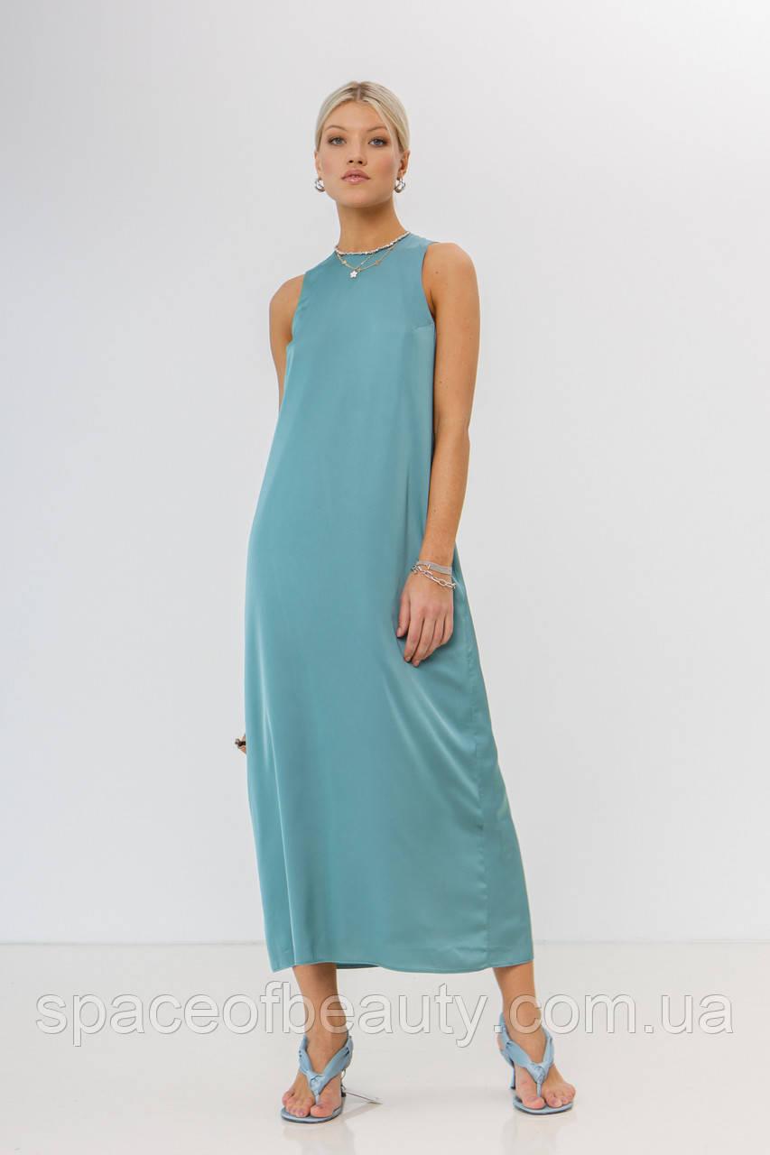 Жіноче плаття Stimma Эрисмания 7695 M Зелена Бірюза