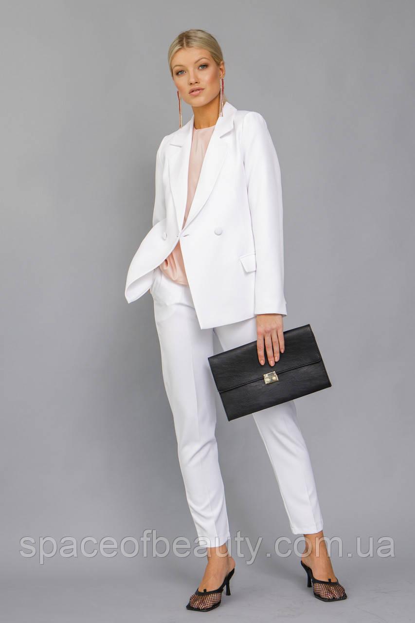 Жіночий костюм Stimma Диксоник 7611 S Білий