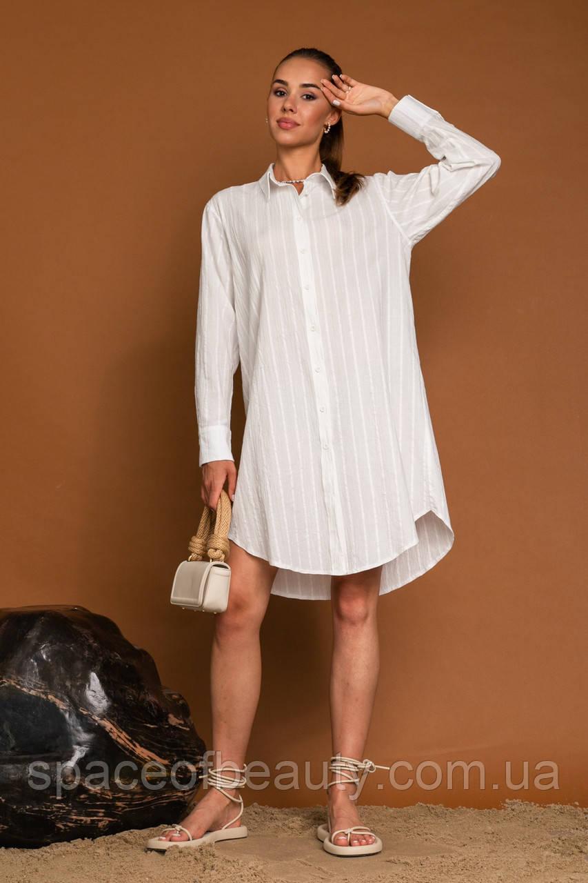 Жіноча сорочка Stimma Мейкол 7790 S Молочний