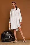 Жіноча сорочка Stimma Мейкол 7790 S Молочний, фото 2