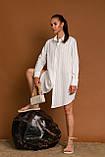 Жіноча сорочка Stimma Мейкол 7790 S Молочний, фото 3