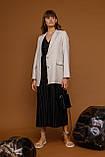 Женский жакет Stimma Дилсис 7800 L Серо-Пудровый, фото 2