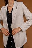 Женский жакет Stimma Дилсис 7800 L Серо-Пудровый, фото 4