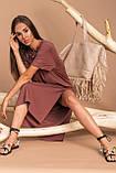 Жіноче плаття Stimma Шарлотта 7583 M Шоколадний, фото 2