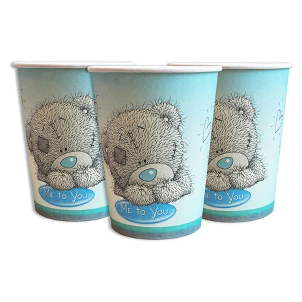 Стаканчики детские одноразовые  Мишка  Тедди 10 штук