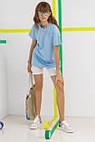 Женская футболка Stimma Сицидия 7725 Xs Голубой, фото 3