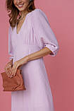 Женское платье Stimma Аспрэдо 7916 Xs Нежно Лиловый, фото 4