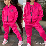 Детский костюм, трехнить на флисе, р-р 128-134;140-146;152-158, фото 3