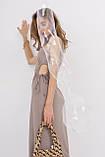 Женское платье Stimma Кария 7947 L Серо-Оливковый, фото 4