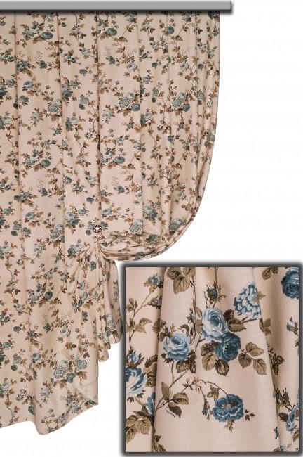 Ткань Хлопок Цветы №11