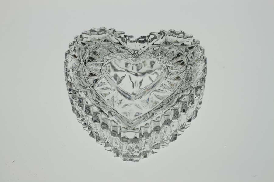 """Сервировочная ваза """"Сердце"""" (6,5 см) BOHEMIA 1313"""