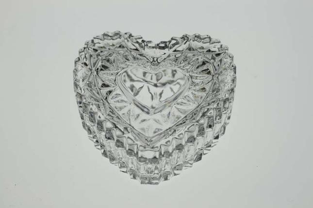 """Сервировочная ваза """"Сердце"""" (6,5 см) BOHEMIA 1313, фото 2"""