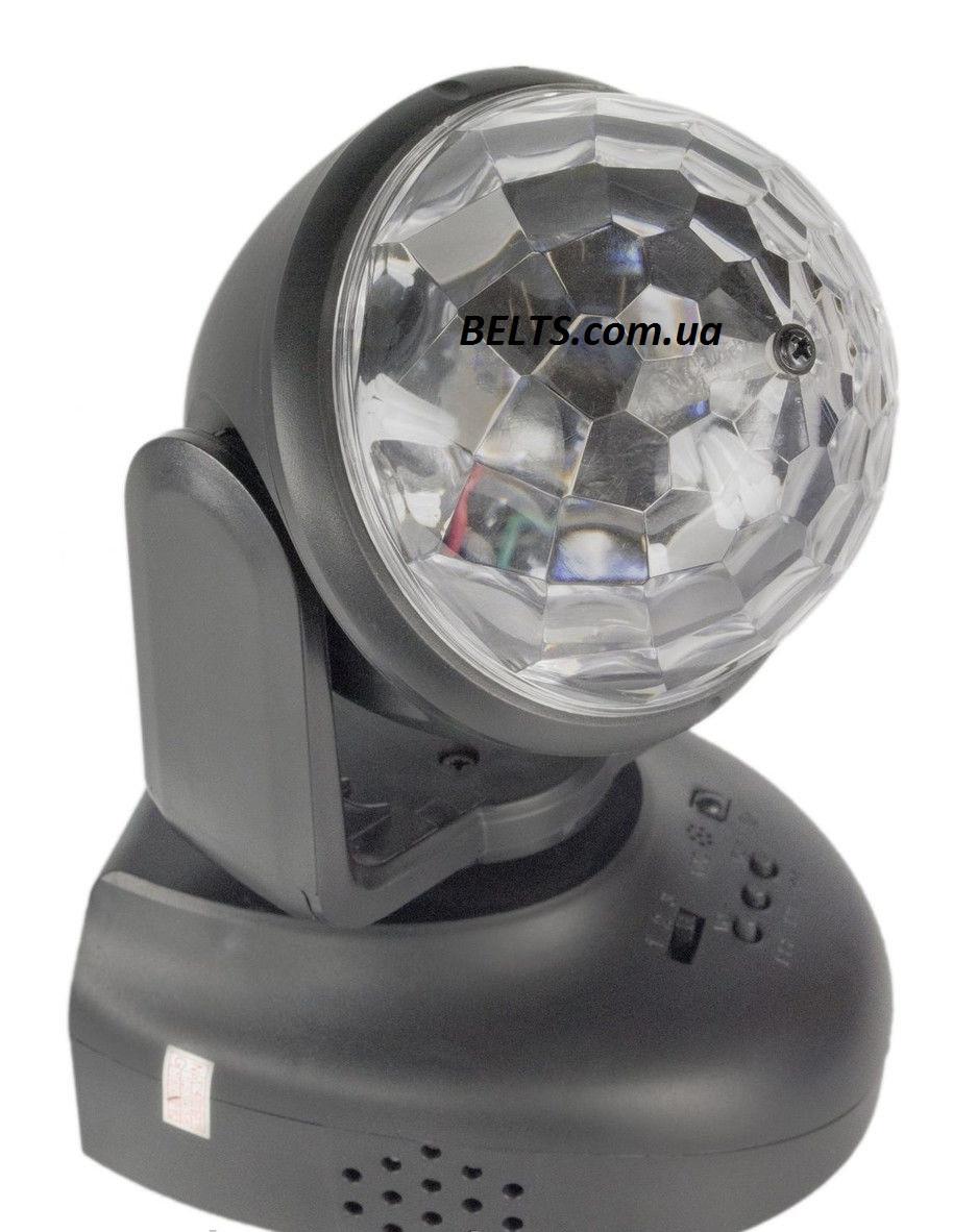 Вращающийся Led проектор для вечеринок и дискотек Led Beam Moving Head Lighting (диско шар Лед Бим Мовинг Хед