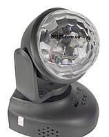 Вращающийся Led проектор для вечеринок и дискотек Led Beam Moving Head Lighting (диско шар Лед Бим Мовинг Хед , фото 1