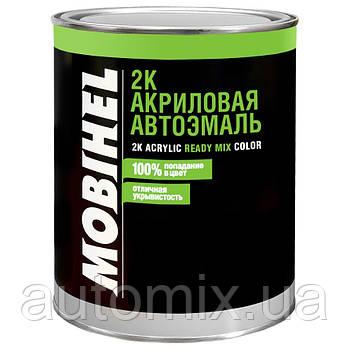 Акриловая автоэмаль Mobihel 601 Глубоко-черная 1 л