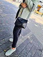Сумочка на цепочке кожаная италия стильная модная сумка кросс-боди натуральная кожа, фото 1