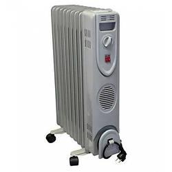Масляний обігрівач, радіатор 9 секцій 2000 Вт Grunhelm GR-0920