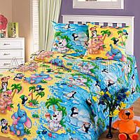Комплект постельного белья детский, полуторный,  бязь ГОСТ