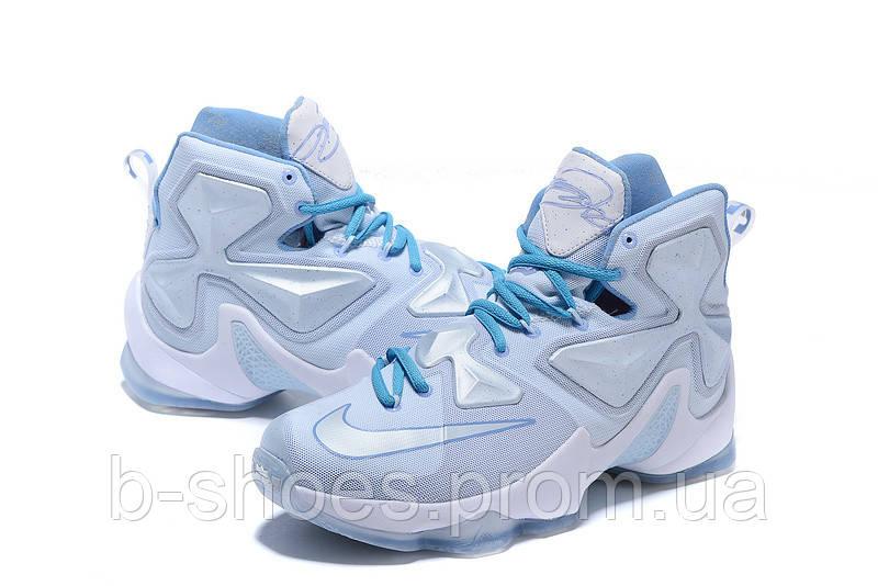 Мужские баскетбольные кроссовки Nike Lebron 13 (White)