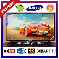 Телевизор Samsung Smart TV Самсунг 34 дюйма Ultra HD LED TV WIFI Android 9.0 Смарт ТВ