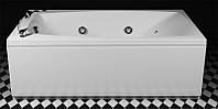 Прямоугольная аэромассажная ванна Rialto Tivoli Aero 1700x905 со смесителем