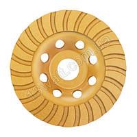 Фреза торцевая шлифовальная алмазная Turbo 125 * 22.2мм CT-6225