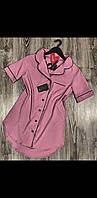 Домашняя одежда женская, платье-рубашка ТМ Exclusive 014.