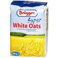 """Овсяные хлопья """"Bruggen"""" Super White Oats 500 г м\п"""