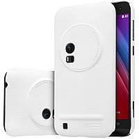 Чехол Nillkin для ASUS ZenFone Zoom (ZX550) белый (+плёнка)