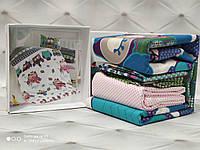 Дитяче постільна білизна для немовлят у ліжечко бавовна Сови, фото 1