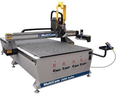 Фрезерно-гравірувальний верстат Multicam 3000 серії