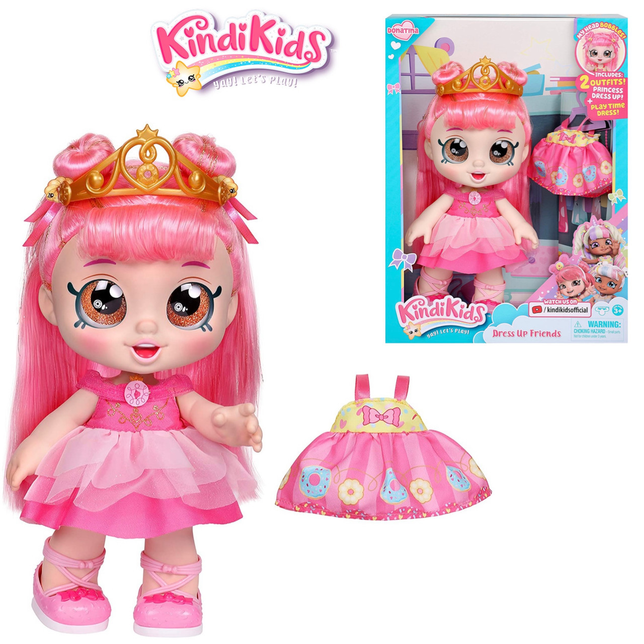 Кукла Кинди Кидс Марша Меллоу из серии Наряжай друга Kindi Kids Marsha Mello Bunny
