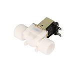 DC 12V Електричний електромагнітний клапан для води, повітря 3/4, фото 2