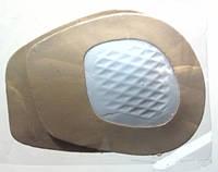 Гелевый вкладыш под плюсну из искожи с латексной подушечкой