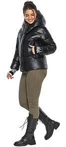 Куртка черная женская короткая модель