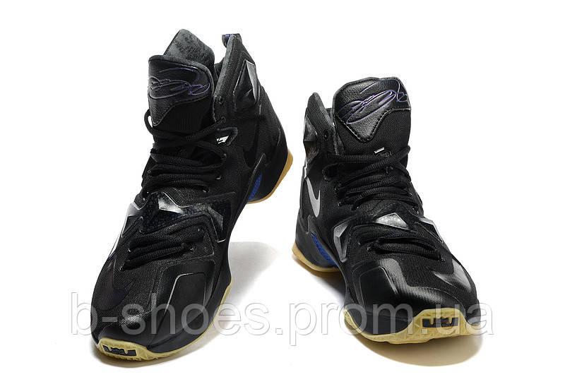 Мужские баскетбольные кроссовки Nike Lebron 13 (Black)