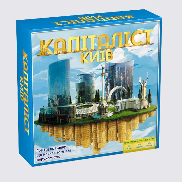 Настільна гра Капіталіст Київ - Інтернет магазин розвиваючих іграшок та настільних ігор в Львовской области
