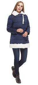 Зимняя куртка женская в синем цвете S