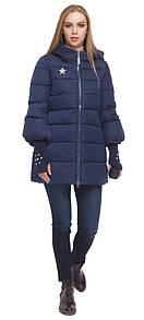 Короткая женская курточка (XS) синий цвет