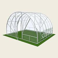 Теплица арочная 5х4м Solidprof, толщина поликарбоната 4мм
