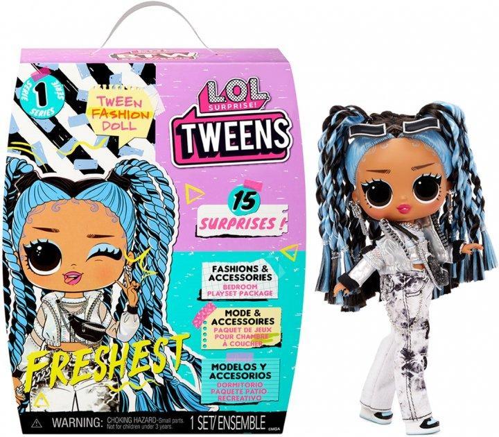 """Игровой набор с куклой L.O.L. Surprise! серии """"Tweens"""" – Хулиганка 576686"""