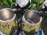 Електричний чайник Domotec (2л) DM-0555, металевий чайник, швидкий нагрів, фото 5